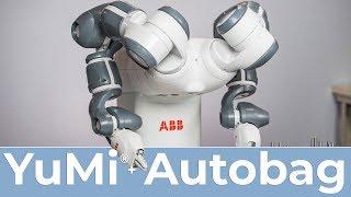 YuMi® IRB 14000 + Autobag / FlexBagger by House of Design Robotics