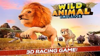 Wild Animal Simulator Games 3D By Free Wild Simulator Games Simulation - iTunes/Android