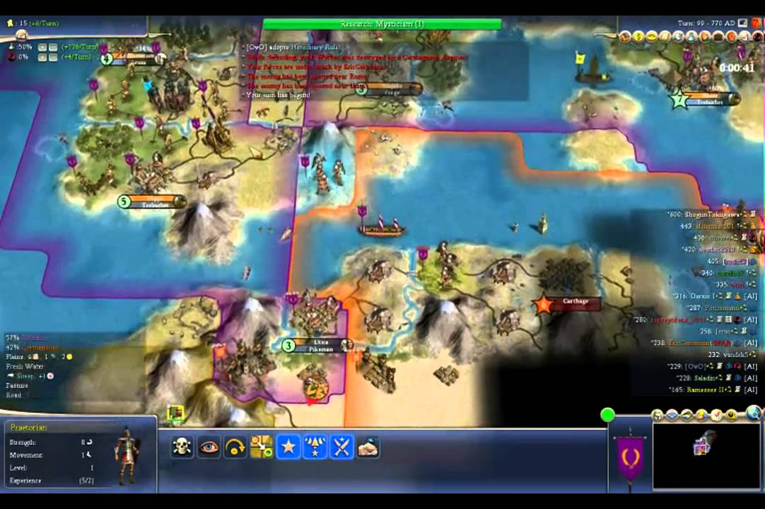 Civ 4 Earth Map.Civilization 4 Online Earth Map Youtube