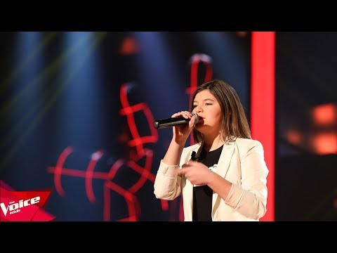 Erma - You know I'm no good   Audicionet e Fshehura   The Voice Kids Albania 2018