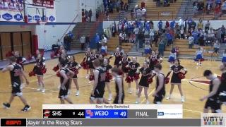 Western Boone vs Sheridan Boys Varsity Basketball | 2/16 | WBTV Sports