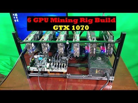6 GPU Mining Rig Build | GTX 1070