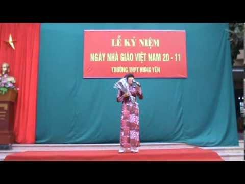 Tình ca Tiên Dung - Cô giáo Tạ Thu An THPT Hưng Yên (20-11-2013)!