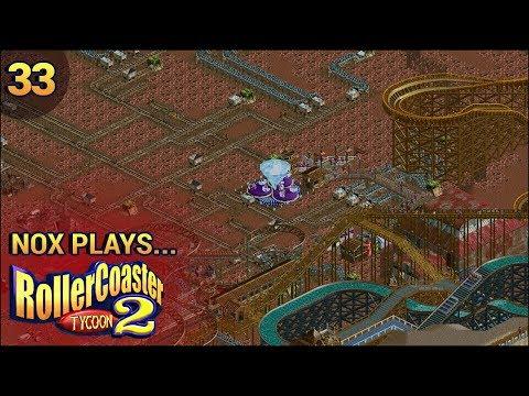 Nox Plays... Rollercoaster Tycoon 2: Wacky Words | #33: Africa - African Diamond Mine