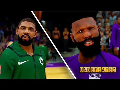 KYRIE IRVING ADMITS HE WILL BE GOING TO THE NEW YORK KNICKS! NBA 2K18 MyCAREER Undefeated #6