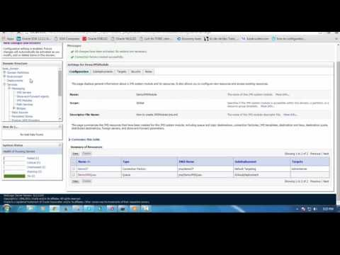 How To Create JMS Resource