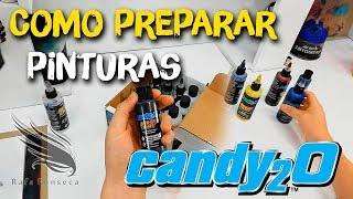 كومو preparar candys 2 Createx الألوان / رافا فونسيكا