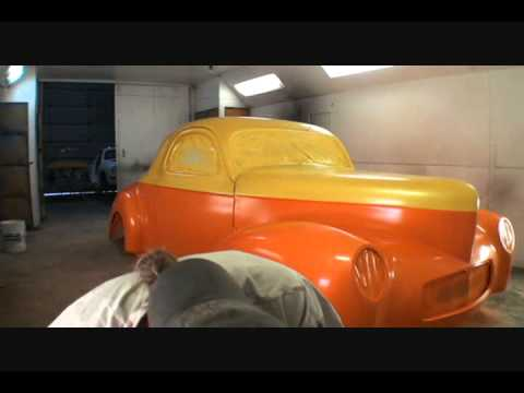 how to paint a car from start to finish