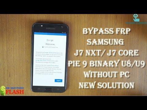 Samsung galaxy J7 Nxt Frp bypass google account (J7 Core)
