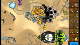 Bloons Monkey City - MOAB Graveyard Action