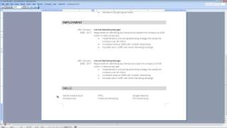 How to write a resume skills section - part 5 of 6