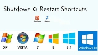 How to make your computer just one click shutdown Restart