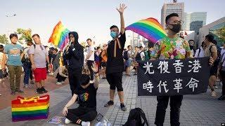 VOA连线(林枫):香港高院判禁蒙面法违宪 理工大学对峙持续