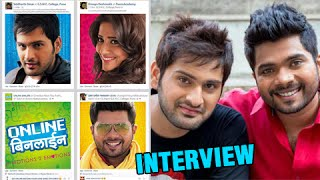 ... watch siddharth chandekar & hemant dhome talk about their upcoming marathi movi...