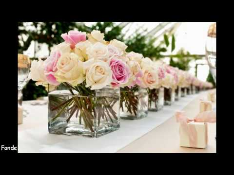 Easy Wedding Table Decorations Ideas