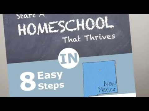 Homeschooling in New Mexico and New Mexico Homeschool Laws