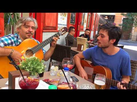 """Flamenco street"" in Madrid."