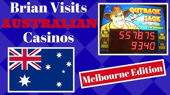 Brian visits AUSTRALIAN Casino ✦MELBOURNE Edition ✦ Slot Machine Pokies at The Crown in Melbourne