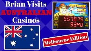 Video Brian visits AUSTRALIAN Casino ✦MELBOURNE Edition ✦ Slot Machine Pokies at The Crown in Melbourne download MP3, 3GP, MP4, WEBM, AVI, FLV November 2017