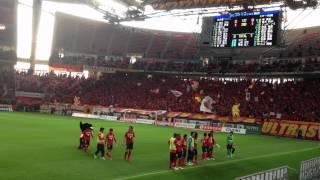 2012 4月14日 グランパス対コンサドーレ札幌,試合後の様子.
