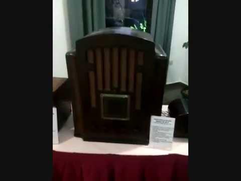 Exposicion de radios antiguas