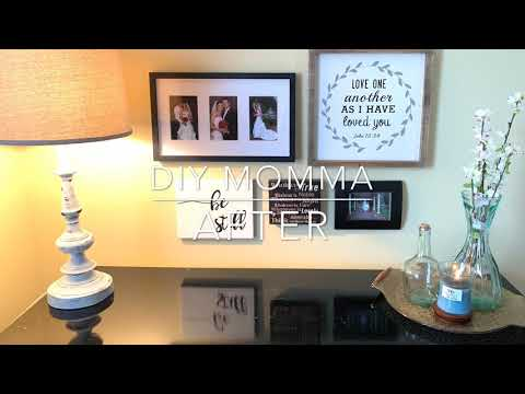 Hobby Lobby Haul   Redecorate with me   Goodwill Finds   Farmhouse Style   DIY   Lamp Makeover 😊❤️