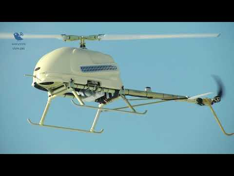 The SURVEYOR-H Unmanned Aerial System with UVH-290E drone vertical takeoff/landing