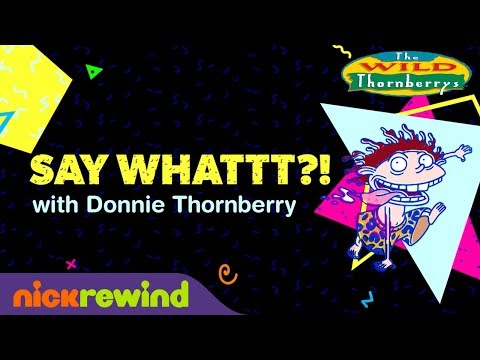 Donnie Thornberry's Language Translated   The Wild Thornberrys   NickRewind