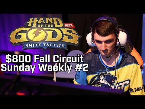 Hand of the Gods $800 Fall Circuit ESL Go4 Cup #2