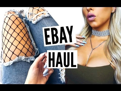 EBAY HAUL #9 | diamond chokers, butt enhancer, rhinestones + more! ♡