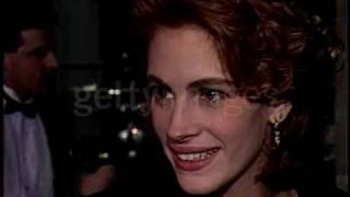 Julia Roberts & Kiefer Sutherland @ Golden Globes 1991