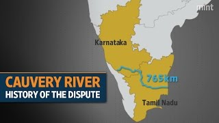 Cauvery water dispute through the years