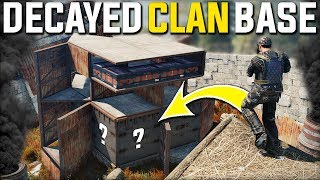 RUST DECAYED CLAN BASE FIND GAVE CRAZY DECAYED JACKPOT SULFUR LOOT - Rust Survival Gameplay | S21-E3