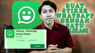 Cara Membuat Stiker WhatsApp Dengan Menggunakan Satu Aplikasi Wemoji
