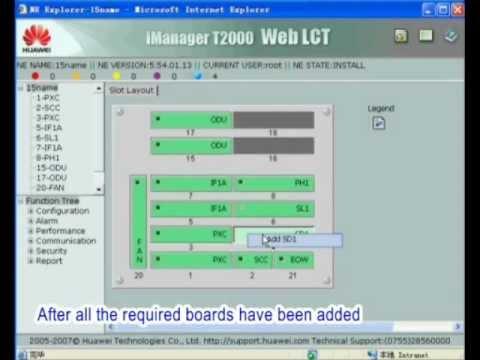 RTN Optiox 600&900 Series Radio Link Commissioning
