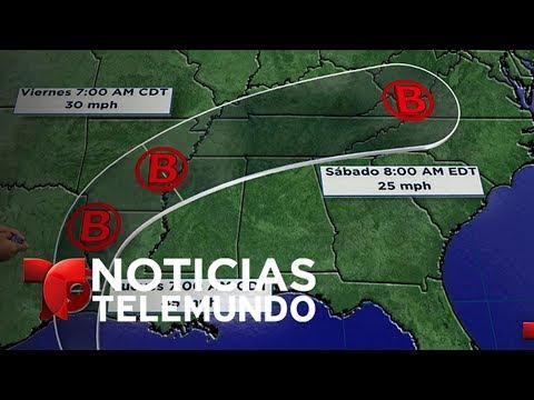 Tormenta tropical Cindy se intensifica aproximándose a Luisiana y Texas | Noticiero | Telemundo