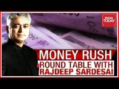 Money Rush :  Round Table With Top Economists On Demonetization   Rajdeep Sardesai