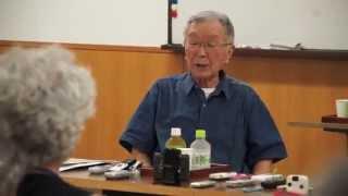 京橋の中村梅吉さんに聞く昭和 2.敗戦から「なぜ?」を重ねて二十歳の8月15日