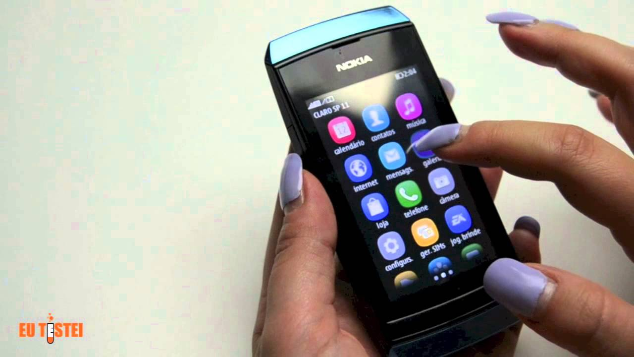 Прошивка Nokia Asha 305 - YouTube