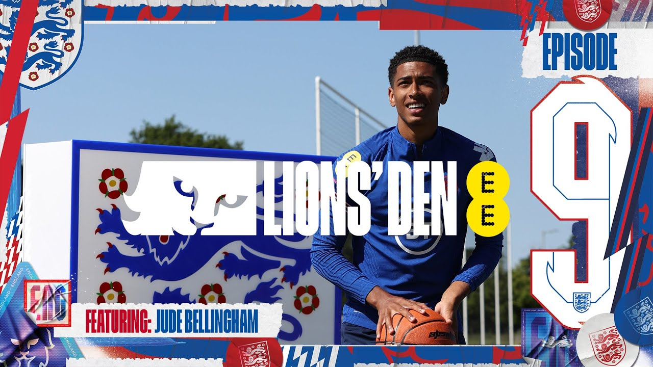 Download Bellingham Talks 'Wembo', Nutmegs & Reece James Friendship   Ep. 9   Lions' Den Connected by EE