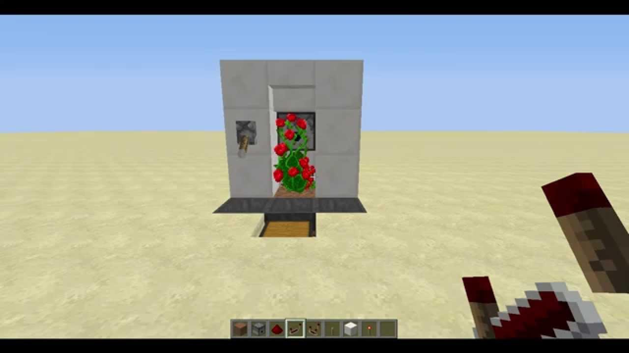 Minecraft Tutorial: Automatic Dye Farm Works in 8.8 - YouTube