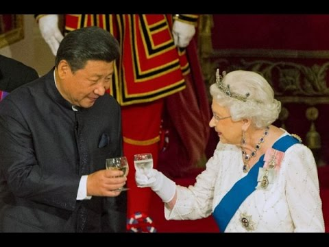 Queen Elizabeth II hosts banquet for Chinese President Xi Jinping
