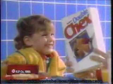 Double Chex Cereal Commercial 1988