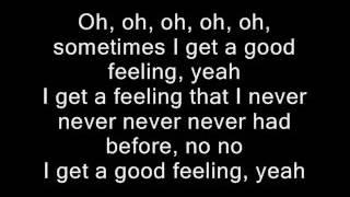 Repeat youtube video Flo Rida - Good Feeling Lyrics