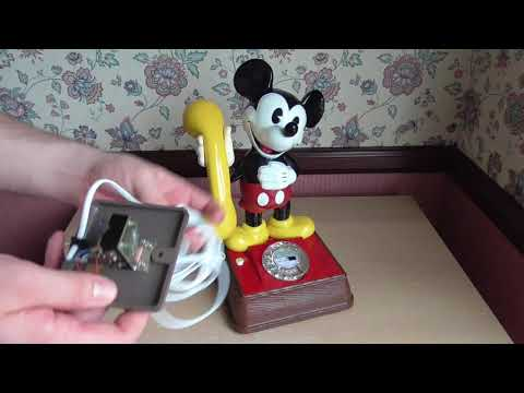 1980 GPO Mickey Mouse Telephone TSR1001A - Final Look