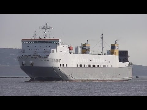 Celandine Cargo Ship - Dublin Port, Ireland