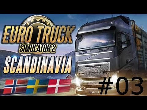 #03 Découverte de DLC d'Euro Truck Simulator 2 | Scandinavia | Aalborg-Odense-Hirtshals