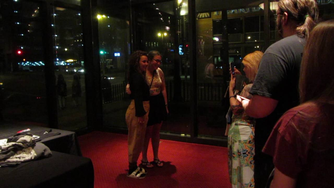 Purity Ring Megan James Meet & Greet - Milwaukee 6/1/2016