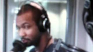 Nova FM Ricki Lee and Old Spice guy Isaiah Mustafa get steamy