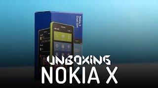 Nokia X - Rozpakowanie - Unboxing (PL)